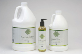 Sacred Earth Botanicals Massage Oil, Certified Organic