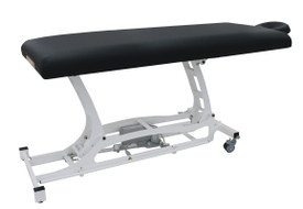 Custom Craftworks Classic Electric Massage Table, HANDS-FREE BASIC - Black