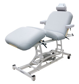 Custom Craftworks Classic Electric Massage Table, HANDS-FREE DELUXE