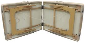 Custom Craftworks Portable Massage Table, COMPANION underside