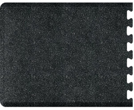 Smart Step Wellness Mat, Puzzle Runner Anti-Fatigue Floor Mat, Black