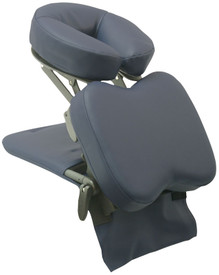 Custom Craftworks Solution Series Portable Desktop Massage Unit, SideKick, Navy