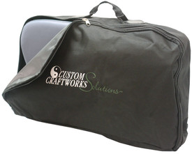 Custom Craftworks Solution Series Portable Desktop Massage Unit, SideKick, Carry Case