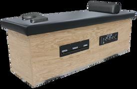 Custom Craftworks Roller Massage Table, ATT300 Wooden Base, maple