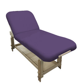 Custom Craftworks Classic Series Massage Table, TAJ MAHAL DELUXE, purple