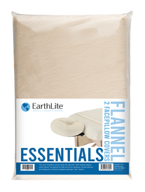 Earthlite Massage Table Face Pillow Cover, Essentials, Natural