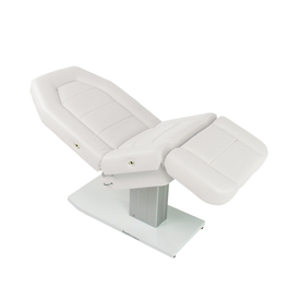 Touch America Spa Treatment Chair/Table, Powered Lift, MARIMBA, White