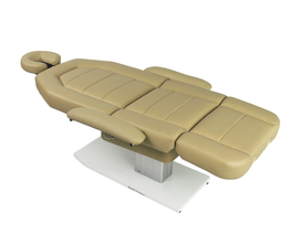 Touch America Spa Treatment Chair/Table, Powered Lift, MARIMBA, flat, with flex arms and headrest