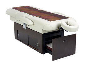 Touch America Fully Motorized Massage Table, SANYA POWER TILT, with accessories (not included)