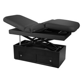 Touch America Fully Motorized Massage Table, SANYA POWER TILT, Black