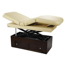 Touch America Fully Motorized Massage Table, SANYA POWER TILT, Almond