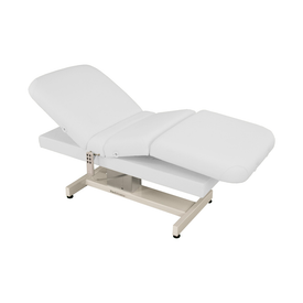 Touch America Powered Lift Spa Treatment Table, VENETIAN PowerTilt, White