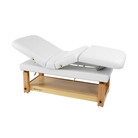 Touch America Stationary Treatment & Massage Table, MULTIPRO, White