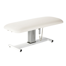 Touch America Wet/Dry Massage Table, Battery Lift Back, APHRODITE, White