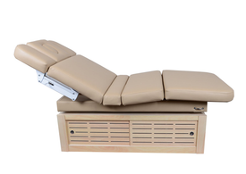 Touch America Electric Lift/Tilt Massage Table, EMBRACE, with cabinet