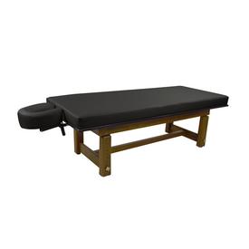 Touch America Outdoor Massage Table, SOLTERRA Teak, Black
