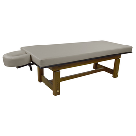 Touch America Outdoor Massage Table, SOLTERRA Teak, Slate