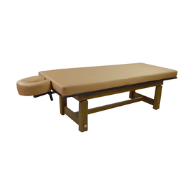 Touch America Outdoor Massage Table, SOLTERRA Teak, Camel