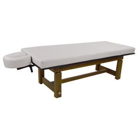 Touch America Outdoor Massage Table, SOLTERRA Teak, Pebble