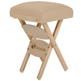 EarthLite Folding Massage Stool - maries beige