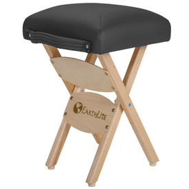 EarthLite Folding Massage Stool - black