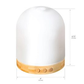 Earthlite Aromatherapy Diffuser and Bluetooth Speaker Dimensions