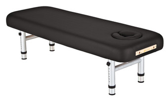 Earthlite Chiropractic Series Massage Table, YOSEMITE Shiatsu, Black