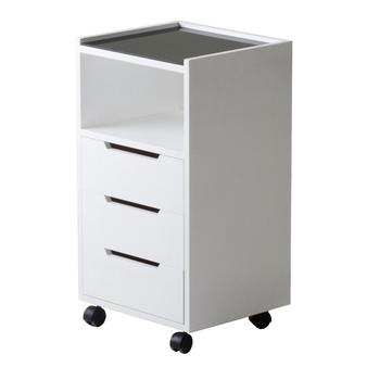 Earthlite Spa Furniture, Trolley, Alpha 3, White Ash