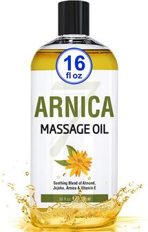 Seven Minerals Massage Oil, ARNICA, 16oz