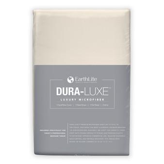 Earthlite Massage Table Sheet, Microfiber, Set, DURA-LUXE, Cream