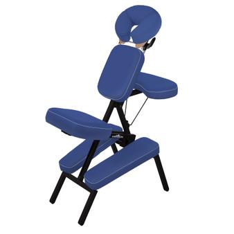 Stronglite Portable Massage Chair, MICROLITE, Cobalt Blue