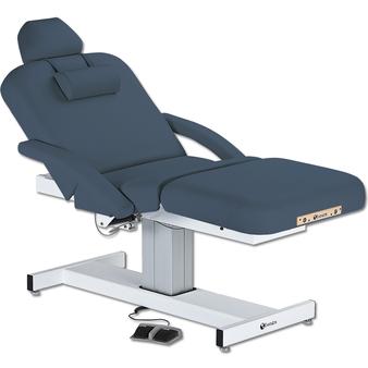 Earthlite Pedestal Electric Lift Massage Table, Salon Top, EVEREST