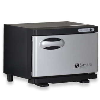 Earthlite Mini UV Hot Towel Cabinet - black