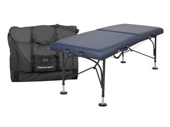 Oakworks Portable Treatment Table, BOSS, Includes Field Feet Package