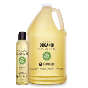 Earthlite Pure Organic Massage Oil