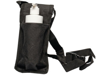 Custom Craftworks Oil Holster and BPA Free Pump Bottles, Single, Black