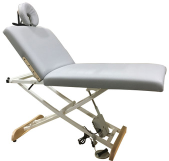 Custom Craftworks Classic Electric Massage Table, ELEGANCE LIFT BACK