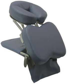 Custom Craftworks Solution Series Portable Desktop Massage Unit, SideKick, Navy