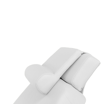 Touch America Treatment Table Salon Head/Footrest & Neck Bolster, White