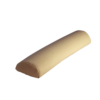 """Touch America Massage Table Bolster, HALF ROUND (27"""" x 3""""), Camel"""