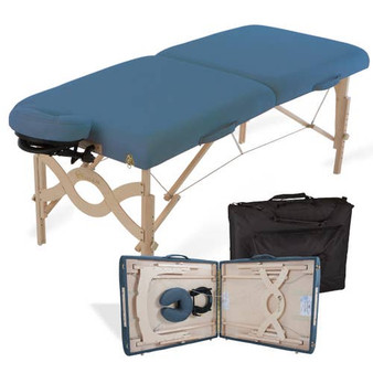 Earthlite Portable Massage Table Package, AVALON XD, Mystic Blue