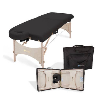 Earthlite Portable Massage Table Package, HARMONY DX, black