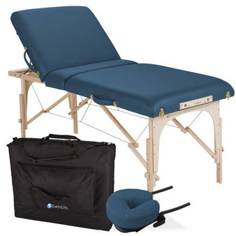 Earthlite Portable Massage Table Package, AVALON XD Tilt, Mystic Blue