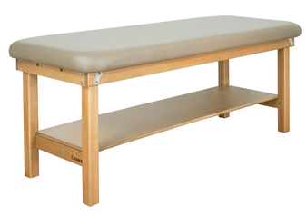 Oakworks Exam Treatment Table, Flat Top, SEYCHELLE