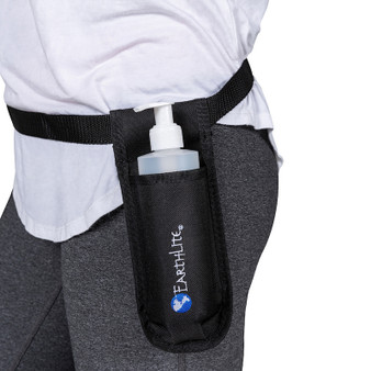 Earthlite Single Massage Oil Holster - in use