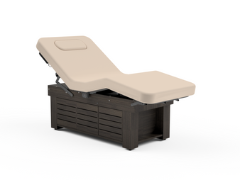 Oakworks Spa Electric Salon Top Table, CLODAGH GEMINI, Cabinet