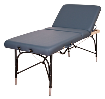 Oakworks Portable Massage Table, Aluminum, Backrest, ALLIANCE