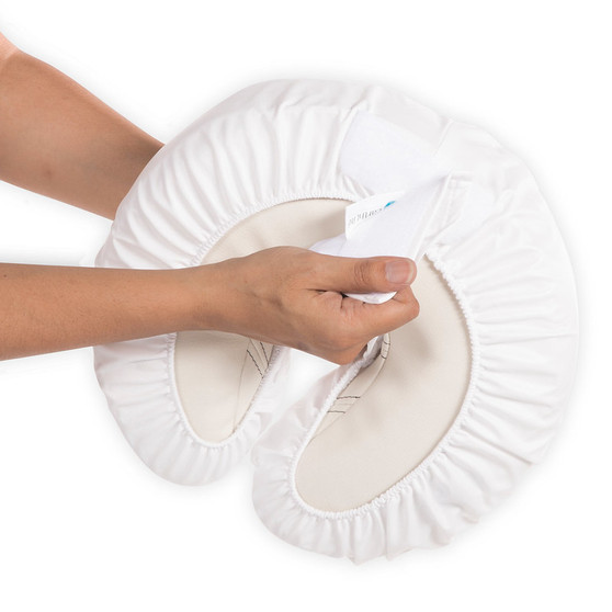 Earthlite Masage Table Cover, Vir‐Avoid™ Protection Set Installation on pillow