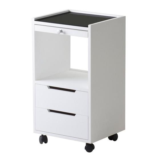 Earthlite Spa Furniture, Trolley, Alpha 2, White Ash