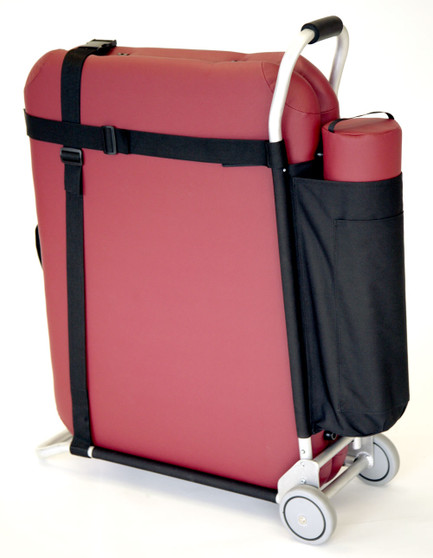 Pisces Pro Portable Massage Table Cart with Bolster Pouch